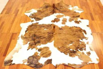 Cowhide - Brown and White and Exotic