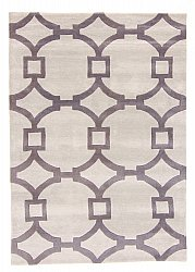 Rug 160 x 230 cm (wool) - Apollónia (grey/beige)