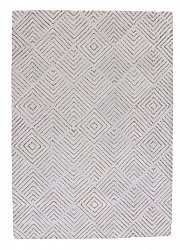 Rug 160 x 230 cm (wool) - Marseille (light grey)