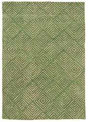 Rug 160 x 230 cm (wool) - Marseille (green)
