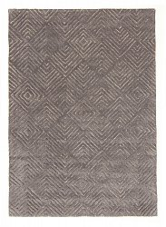Rug 160 x 230 cm (wool) - Marseille (grey)