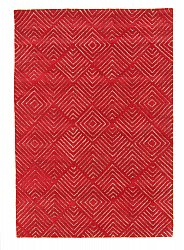 Rug 200 x 300 cm (wool) - Marseille (red)