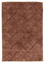 Rug 160 x 230 cm (wool) - Marseille (brown)