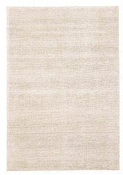 Bamboo silk rug - Faliraki (light grey)