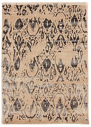 Rug 160 x 230 cm (wool) - Dolianá (beige/grey)