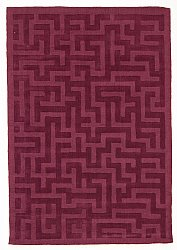 Rug 200 x 300 cm (wool) - Kalamáta (purple)