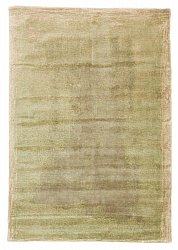 Rug 200 x 300 cm (wool) - Karyes (green/beige/grey)