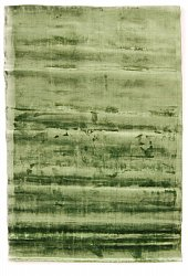 Viscose rug - Jodhpur Special Luxury Edition (green)