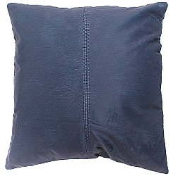 Velvet cushion (blue) (cushion cover) 45 x 45 cm