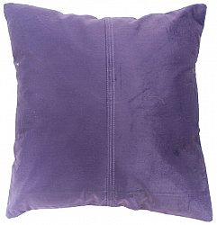 Velvet cushion (purple) (cushion cover) 45 x 45 cm