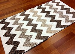 Rag rugs from Stjerna of Sweden - Dalarna (beige/brown/white)