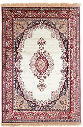 Rug 185 x 275 cm (wilton) - Battista (ivory/red)