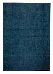 Wool rug - Glitz (dark blue)
