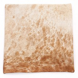 Cowhide cushion (cushion cover) 45 x 45 cm