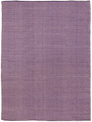 Rug 300 x 400 cm (cotton) - Marina (purple)