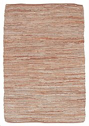 Hemp rug - Alamar (beige/brown)