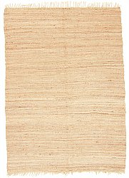 Rug 300 x 400 cm (hemp) - Natural (beige)