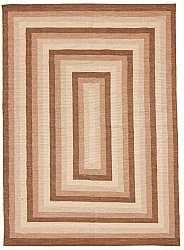 Rug 170 x 240 cm (cotton) - Chania (beige)