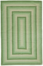 Rug 300 x 400 cm (cotton) - Chania (green)