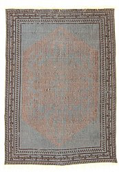 Rug 140 x 200 cm (cotton) - Arles (blue/grey)