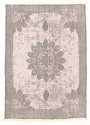 Rug 140 x 200 cm (cotton) - Cassis (grey)