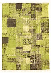Rug 140 x 200 cm (cotton) - Devenport (green)