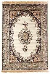 Rug 185 x 275 cm (wilton) - Battista (ivory/green)