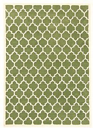 Rug 200 x 300 cm (wool) - Madrid (green)