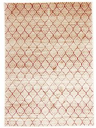 Wilton rug - Blanca (ivory/red)