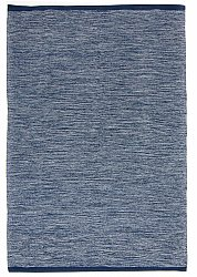 Rug 160 x 230 cm (cotton) - Slite (blue)