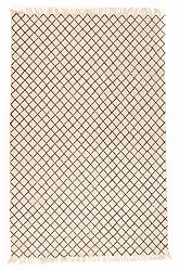 Rug 170 x 240 cm (cotton) - Agadir (black/white)