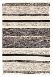 Rug 135 x 200 cm (cotton) - Nikita (grey)
