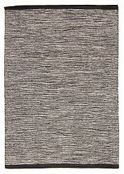 Rug 135 x 190 cm (cotton) - Slite (grey)