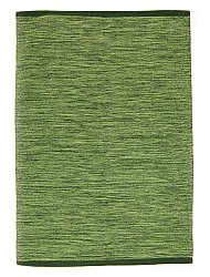 Rag rugs Large - Slite (green) 160 x 230 cm