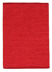 Rug 160 x 230 cm (cotton) - Slite (red)