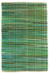 Rug 140 x 200 cm (cotton) - Home (green)