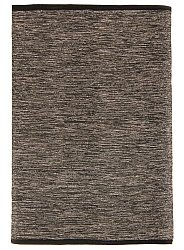 Rug 135 x 190 cm (cotton) - Slite (black-white)