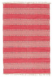 Rug 133 x 190 cm (cotton) - Havtorn (red)