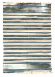 Rug 170 x 240 cm (cotton) - Leia (blue)