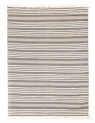 Rug 140 x 200 cm (cotton) - Ystad (grey)