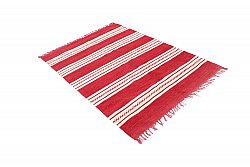 Rag rugs - Kajsa (red)