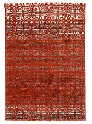 Rug 140 x 200 cm (wilton) - Venetia (orange)