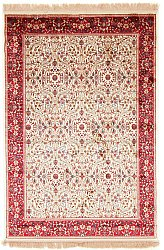 Wilton rug - Francesca (ivory/red)