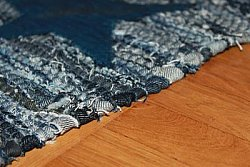 Rag rugs from Stjerna of Sweden - Texas (denim / jeans)
