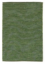 Rug 135 x 190 cm (cotton) - Tuva (green)