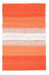 Rug 140 x 200 cm (cotton) - Lisa (orange)