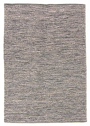 Rug 135 x 190 cm (cotton) - Tuva (grey)