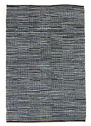 Rag rugs from Stjerna of Sweden - Emma (dark blue)