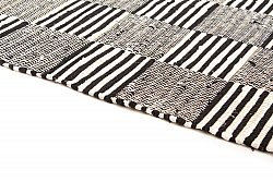 Rag rugs - Emma (black)