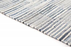Rag rugs from Stjerna of Sweden - Emma (light blue)